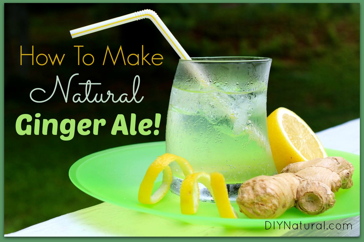 how to make ginger drink at home