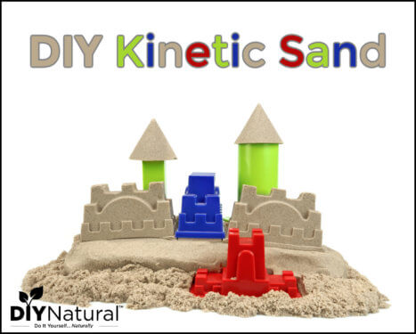 How to Make DIY Kinetic Sand