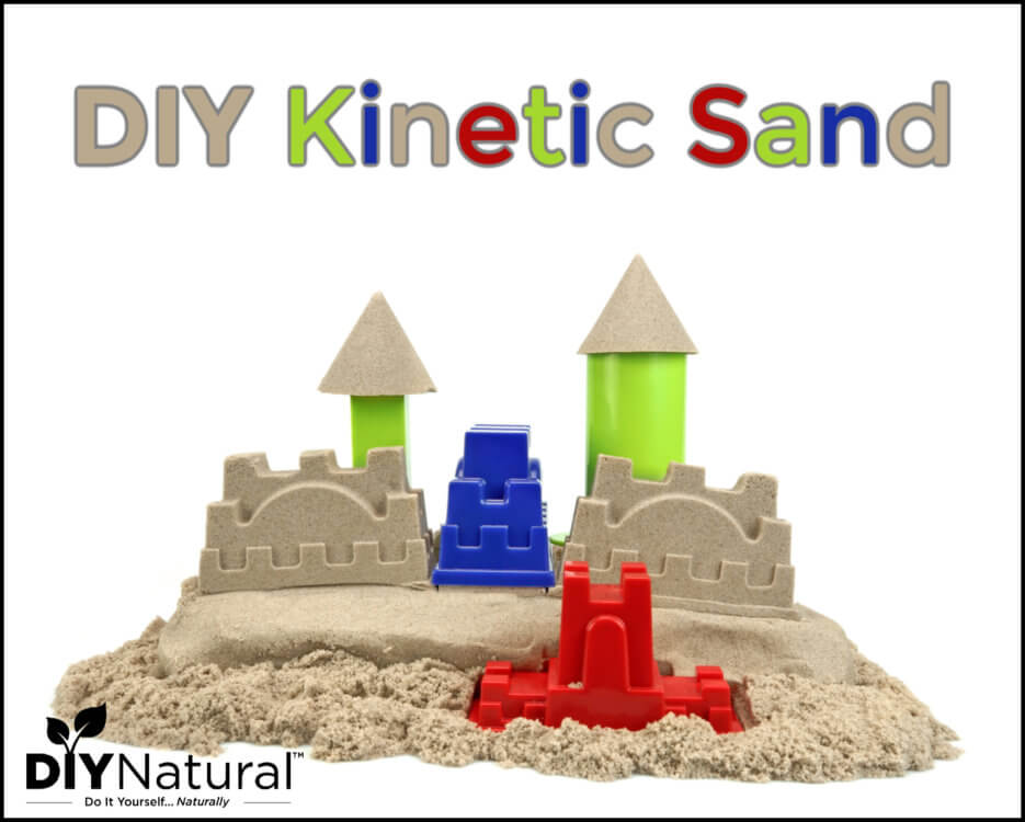 How to Make Kinetic Sand DIY