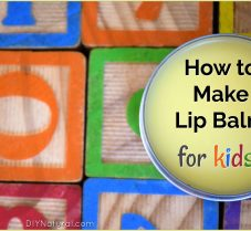 DIY Lip Balm for Kids, Also Great on Chapped Cheeks!
