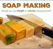 How to Make Soap: Weight Vs. Volume Measurement