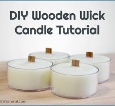 A Simple Tutorial for Homemade Wood Wick Candles