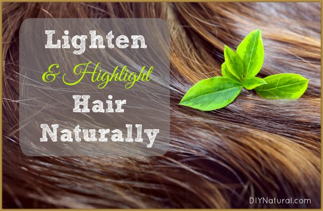 How To Lighten Hair Naturally Lemon Vinegar