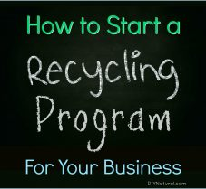 How to Start a Recycling Program For a DIY Business