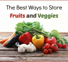 How to Store Vegetables & Fruit So They Last Longer