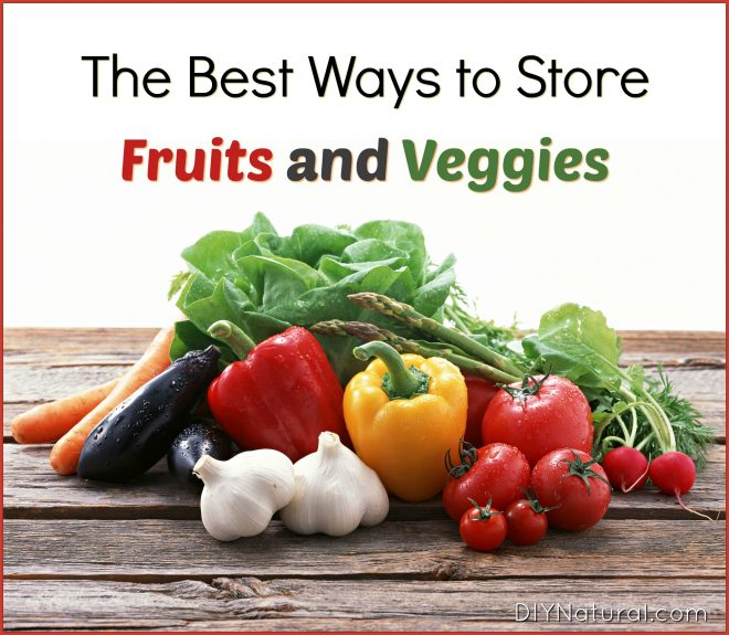 How to Store Vegetables Fruit
