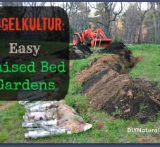 Hugelkultur: German-style Raised Garden Beds