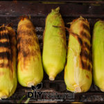 Husk On Grilled Corn