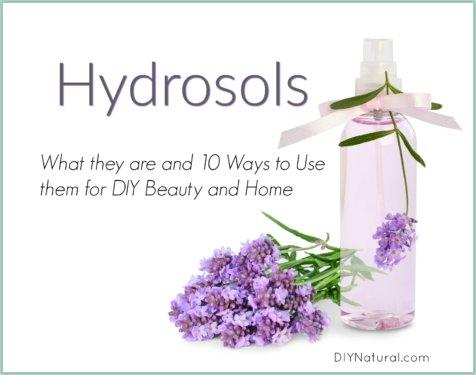 Hydrosol Uses