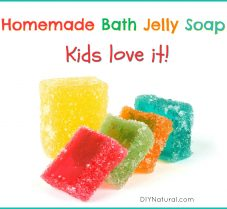 Simple DIY Bath Jelly Soap Recipe for Kids