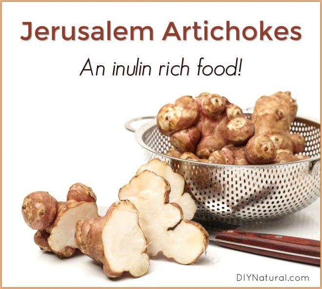 Jerusalem Artichokes Inulin Rich Foods
