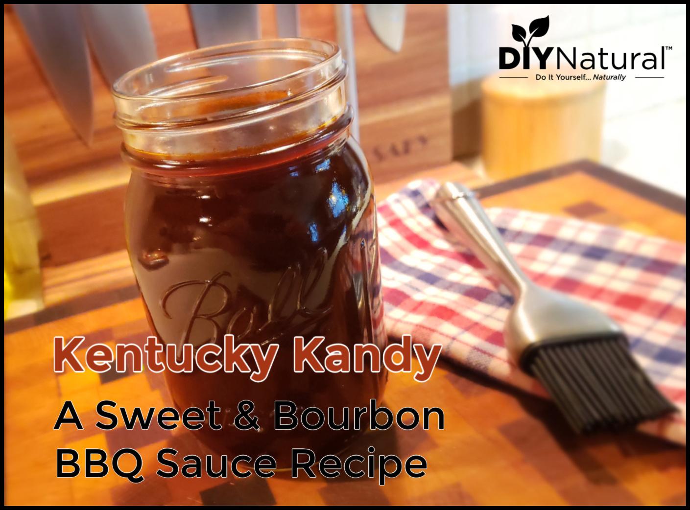 Kentucky Kandy: A Sweet and Bourbon BBQ Sauce