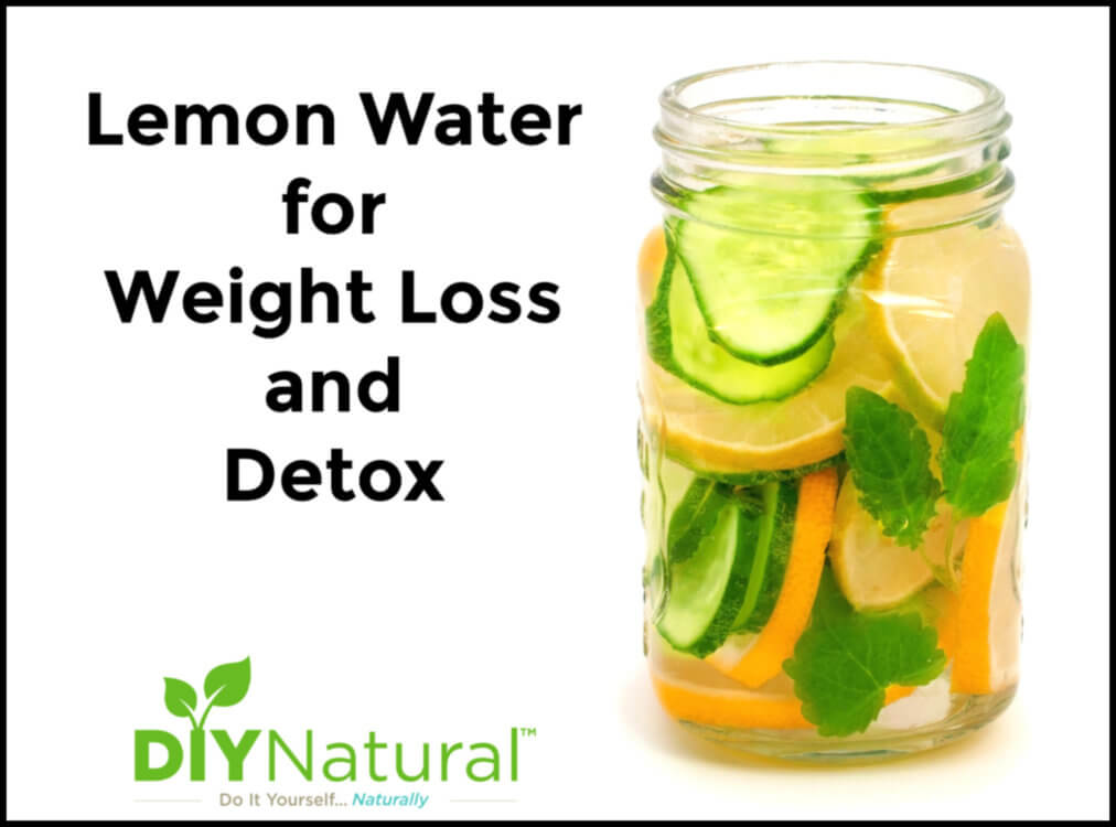 Lemon Water for Weight Loss Detox Recipe