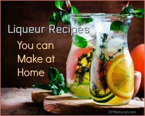 Liqueur Recipes Homemade