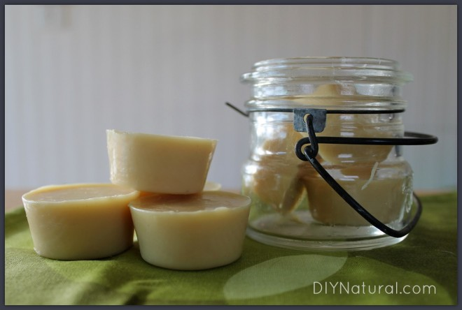 Lotion Bar Recipe 1