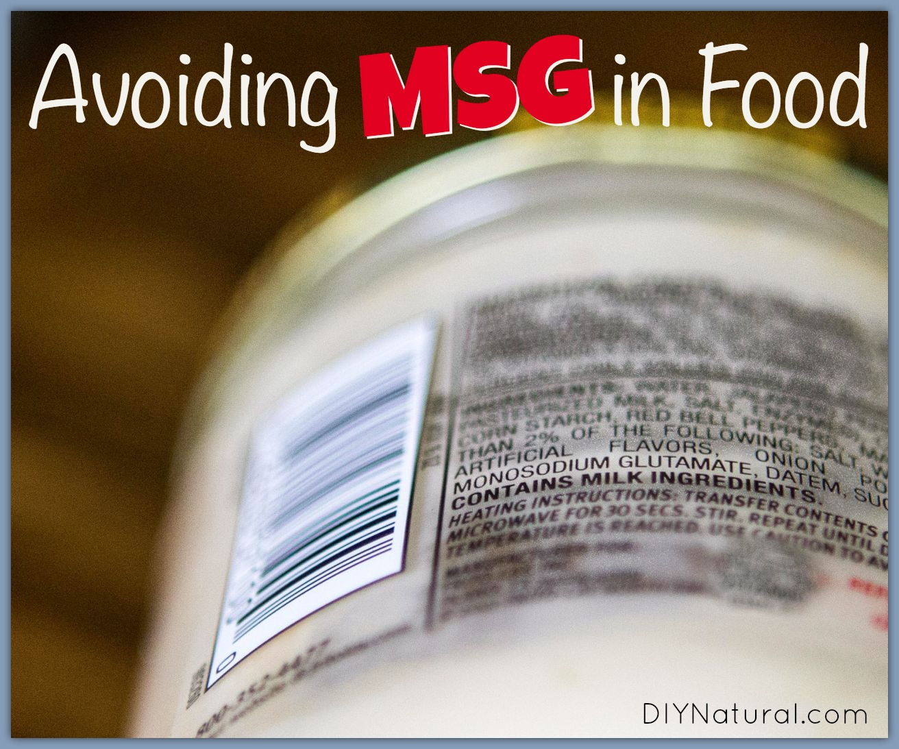 3 Ways to Avoid MSG