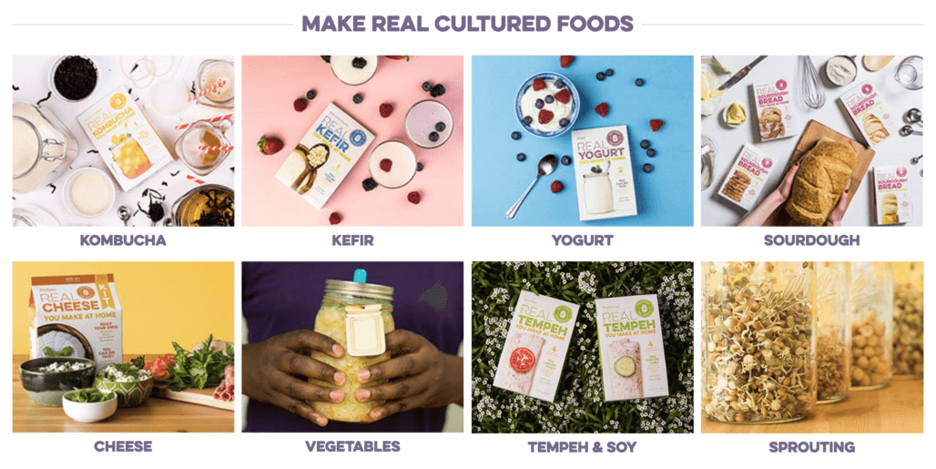 Make Cultured Foods