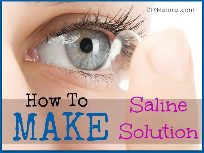 Make Saline Salution