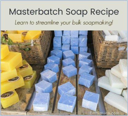 Masterbatch Soap Recipe