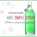 Yummy Mint Simple Syrup Recipe: Makes a Great Gift