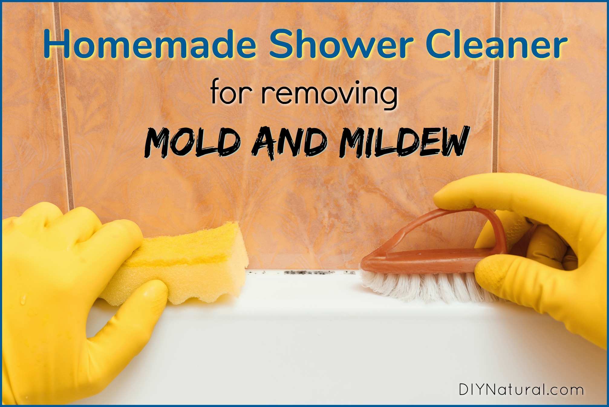 Mold in Shower: Homemade Shower Cleaner