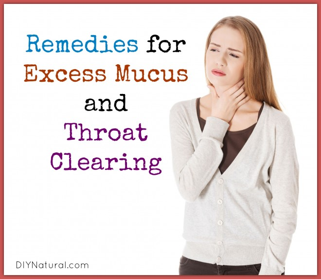 Constant Throat Clearing Natural Remedies