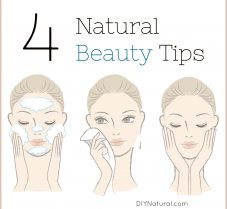 4 Natural Beauty Tips For a Healthier Beauty Routine