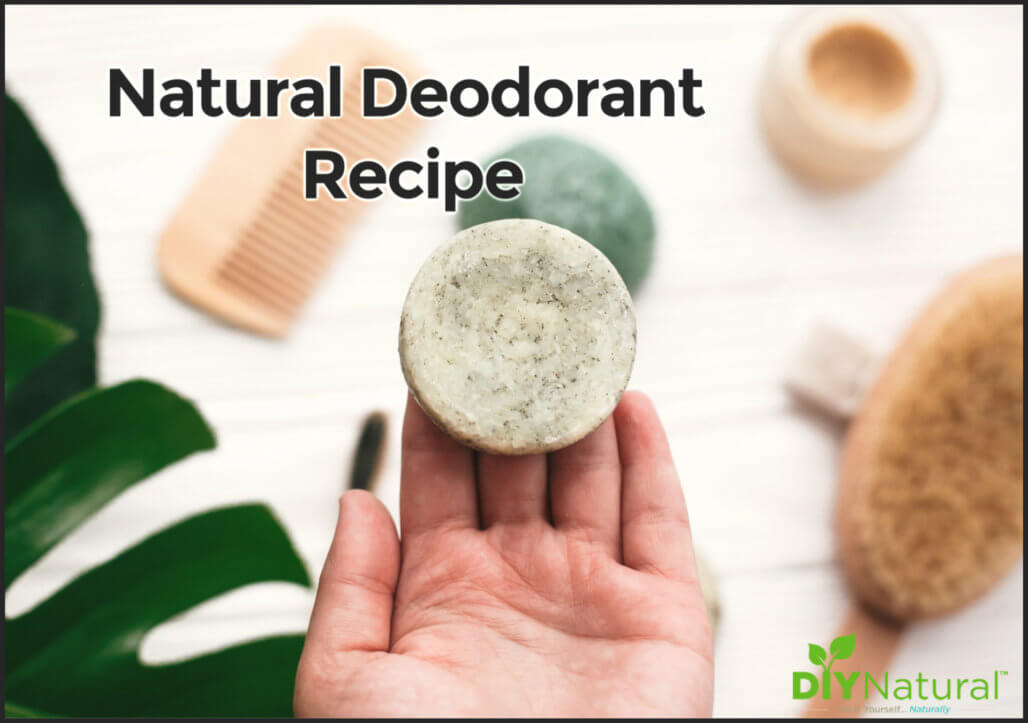 Natural Deodorant Recipe: A Solid