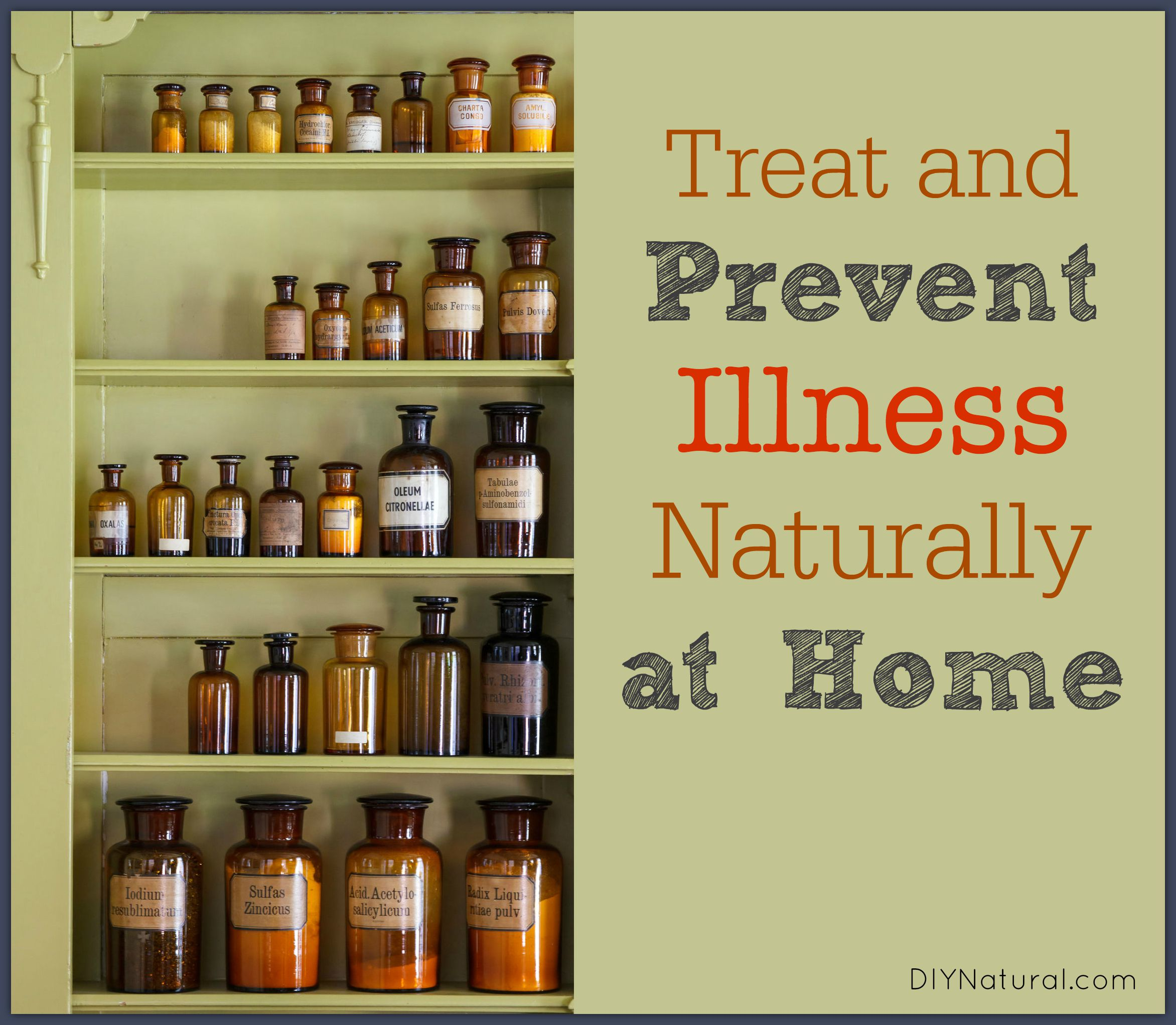 Natural home remedies for illness prevention and recovery - Natural home ...