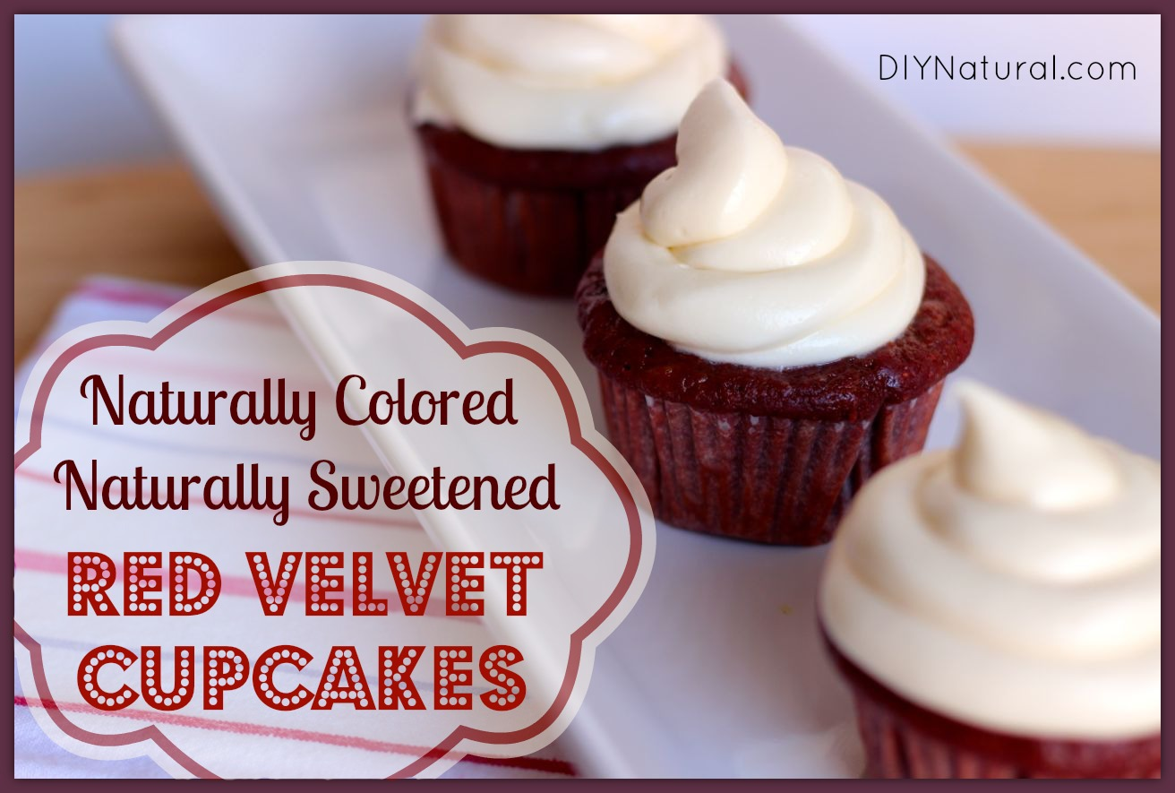 Natural Red Velvet Cake Without Food Coloring