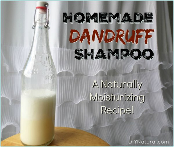 Home Remedies for Dandruff Homemade Shampoo