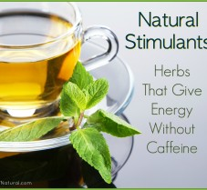 Herbal Stimulants That Give Energy Without Caffeine