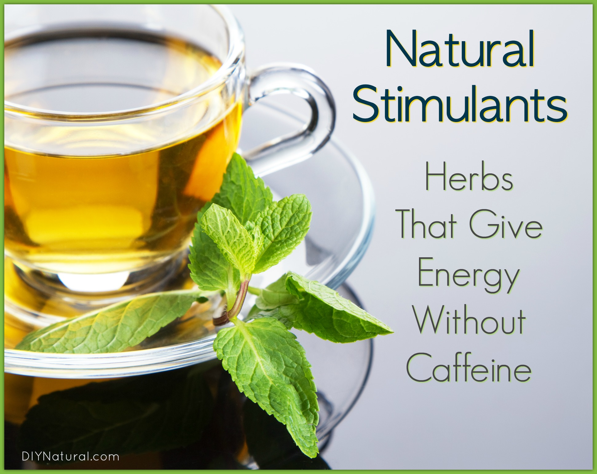 Natural Stimulants In Food