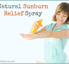 Learn How to Make a Natural Sunburn Relief Spray