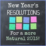 Resolutions For a More Healthy & Natural New Year