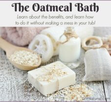 Enjoy the Benefits of Oatmeal Baths w/o All The Mess