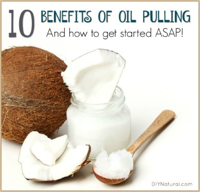 Oil Pulling Benefits with Coconut Oil