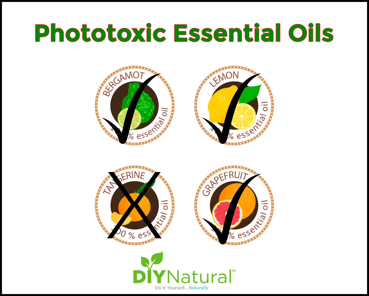 Photoxicity in Citrus Oils and Other Essential Oils