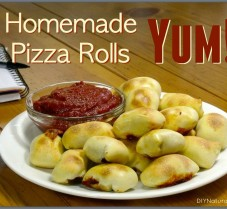 A Delicious and Healthy Baked Pizza Rolls Recipe!