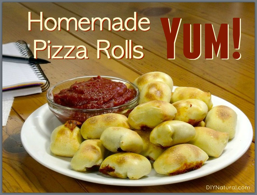pizza rolls a delicious and healthy recipe