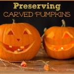 A Few Natural Ways to Keep Pumpkins Fresh Longer