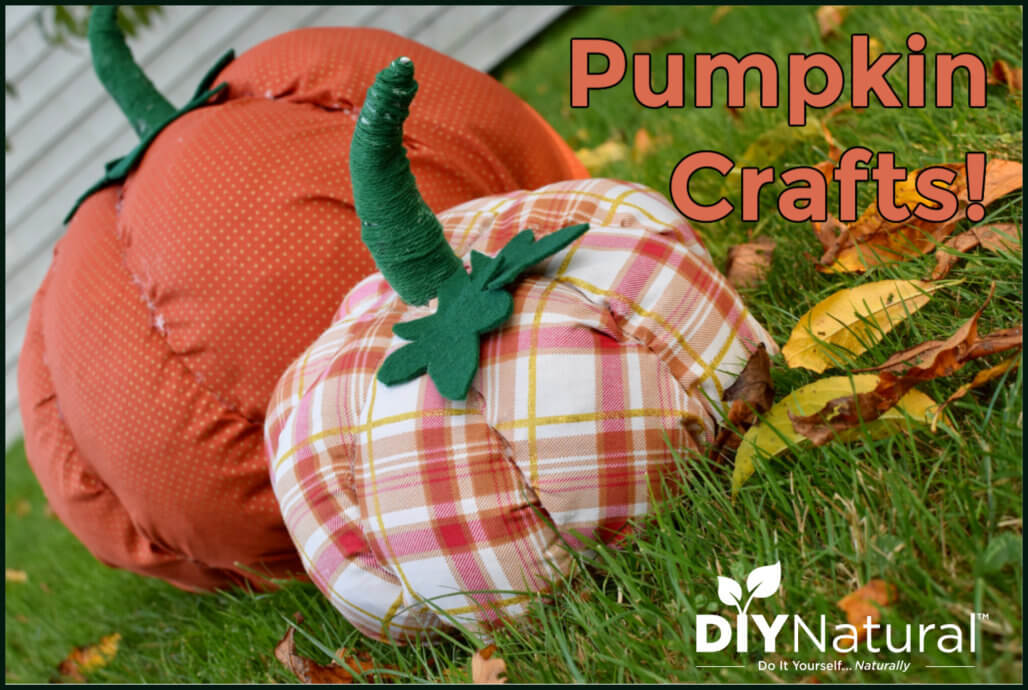 Pumpkin Crafts: Make Pumpkins Out of Plastic Bags!