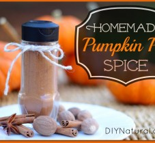 Homemade Pumpkin Pie Spice for Baking & More!