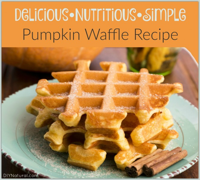 Egg Nog Using Heavy Cream: Pumpkin Waffles Made With Holiday Eggnog And Cream