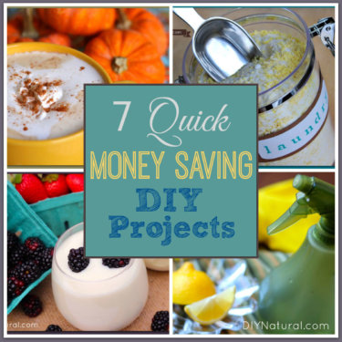 Quick Money Saving DIY Projects