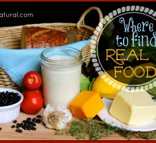 How and Where to Find Sources of Real Food