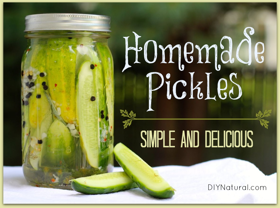 Refrigerator Pickles How To Pickle Cucumbers