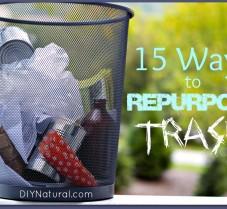 15 Wonderful Ways to Repurpose Your Trash