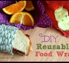 How to Make Reusable Food Wrap