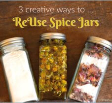 3 Creative Ways to Reuse Your Old Glass Spice Jars